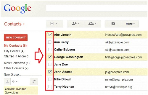 create mailing list in gmail - e