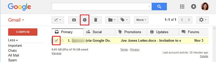 How To Report Spam In Gmail E Mail Tips And Tricks